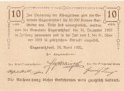 10 Heller (Engerwitzdorf) – reverse
