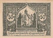 50 Heller (Engerwitzdorf) – obverse