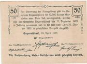 50 Heller (Engerwitzdorf) – reverse