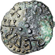 Styca - Aethelred II (1st reign) – obverse