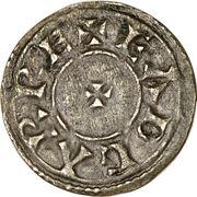 Penny - Eadgar (Two line type) – obverse