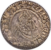 Penny - Æthelred II (Intermediate Small Cross type) – obverse
