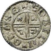Penny - Æthelred II (Crux type) – reverse