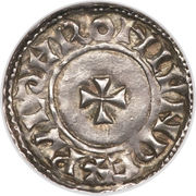 Penny - Edward (Small Cross type; facing bust) – reverse