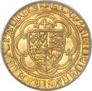 ¼ Noble - Edward III (Treaty coinage) – obverse