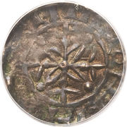 Penny - William II (Cross Fleury and Piles type) – reverse