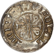 Penny - William II (Voided Cross type) – reverse