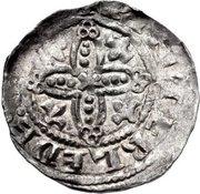 Penny - Henry I (Pellets in quatrefoil type) – reverse