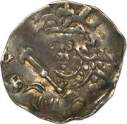 Penny - Stephen (Voided cross and stars type) – obverse