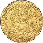 1 Sovereign - Henry VIII (2nd coinage) – obverse