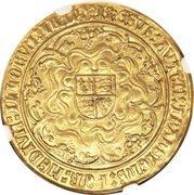 1 Sovereign - Henry VIII (2nd coinage) – reverse