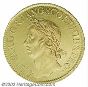 50 Shillings - Oliver Cromwell – obverse
