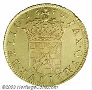 50 Shillings - Oliver Cromwell – reverse
