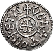 Penny - Coenwulf (Canterbury mint) – reverse
