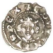 1 Farthing - Edward III (3rd coinage; London mint) – obverse