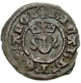 1 Farthing - Richard II (London mint) – obverse