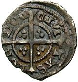 1 Farthing - Richard II (London mint) – reverse