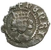 1 Farthing - Henry VI (1st reign; Rosette-mascle issue) – obverse