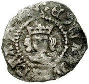 1 Farthing - Edward IV (1st reign; Heavy coinage) – obverse