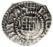 1 Farthing - Henry VIII (1st coinage; London mint) – obverse