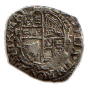 1 Penny - Charles I (Tower mint; Group B) – reverse