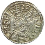 Penny - Æthelred II (Helmet type) – obverse