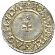 Penny - Æthelred II (Last Small Cross type) – reverse