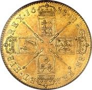 5 Guineas - James II (2nd bust) – reverse