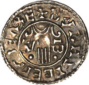 Penny - Æthelred II (2nd Hand type) – reverse