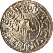 Penny - Æthelred II (1st Hand type; bust right) – reverse