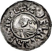 Penny - Æthelred II (1st Small Cross type) – obverse