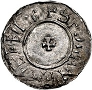 Penny - Æthelred II (1st Small Cross type) – reverse