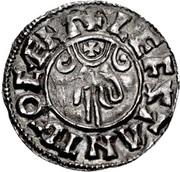 Penny - Æthelred II (Benediction Hand type) – reverse