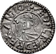 Penny - Æthelred II (Small Crux type) – obverse