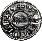Penny - Sihtric (Circumscription sword type) – obverse