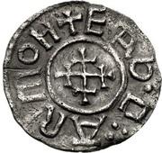 Penny - Æthelstan I (Portrait type) – reverse