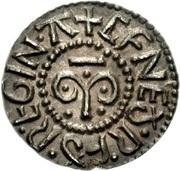 Penny - Cynethryth (wife of Offa) – reverse