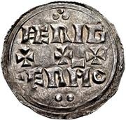 Penny - Eadwig (Two line type) – reverse