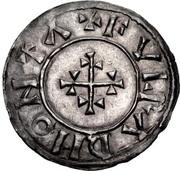 Penny - Æthelstan (Helmeted portrait type) – reverse