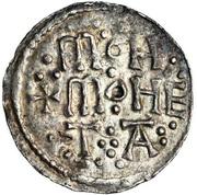 Penny - Æthelstan I (3-line type) – reverse