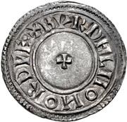 Penny - Æthelstan (Crowned bust type) – reverse