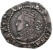 ¾ Penny - Elizabeth I (3rd & 4th issue) – obverse