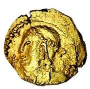Thrymsa (crude bust type) – obverse