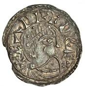 Penny - Eadred (Portrait type; Norwich mint) – obverse