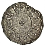 Penny - Eadred (Portrait type; Norwich mint) – reverse