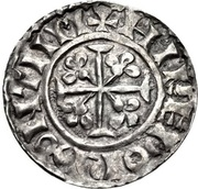 Penny - William II (Cross Pattée and Fleury type) – reverse