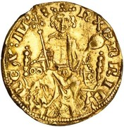 1 Gold Penny - Henry III – obverse