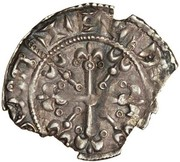 1 Penny - Eustace Fitzjohn (Baronial coinage) – reverse