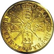 1 Guinea - Anne – reverse