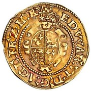 ½  Crown - Edward VI (2nd period; uncrowned bust) – reverse